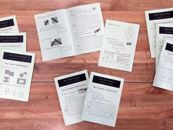 SAT Revision Mini-Test Booklets: Reasoning Set (Fractions, Decimals, Percentages and Ratio)
