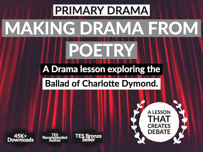 Primary Drama: Making Drama out of Poems