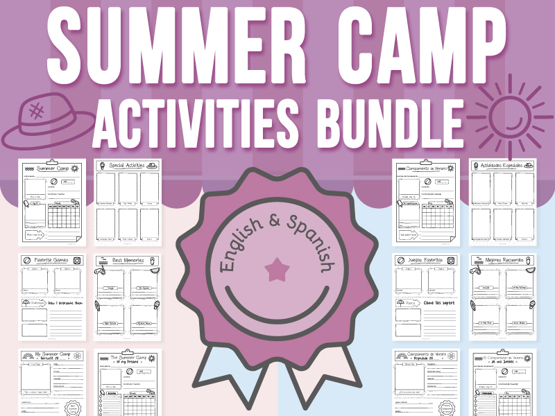 Summer Camp Activities BUNDLE