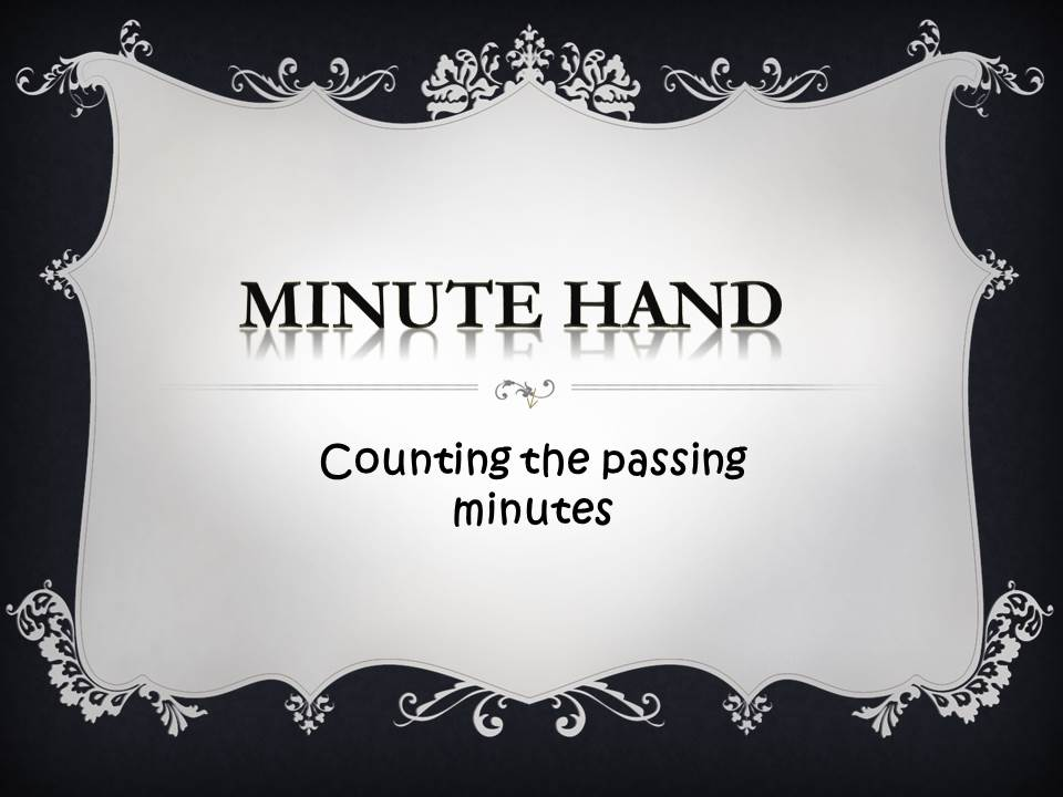 KS2 Resource: Minute Hand- Counting the Passing Minutes _Complete Lesson