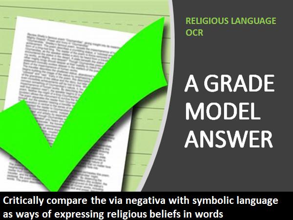 RELIGIOUS LANGUAGE OCR VIA NEGATIVA/SYMBOLIC LANGUAGE