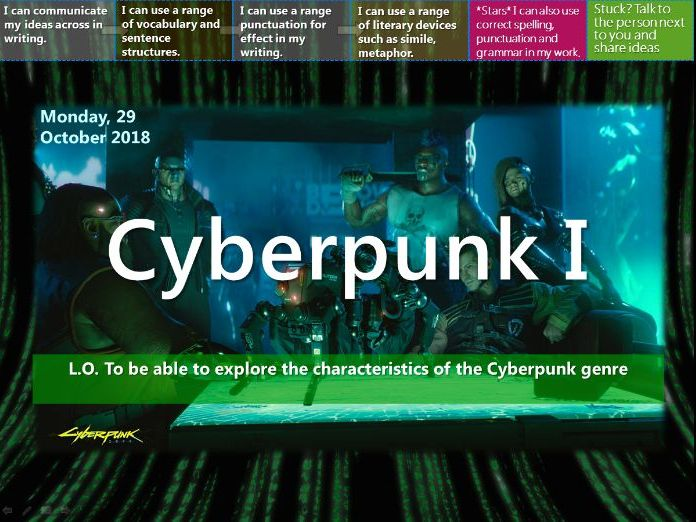 Cyberpunk (Whole Unit 10-12hours!)