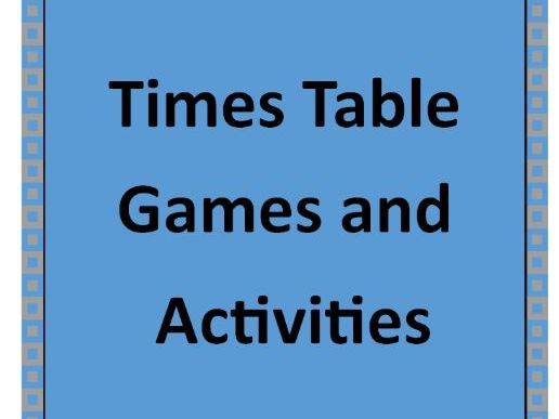Times Table Games and Grids