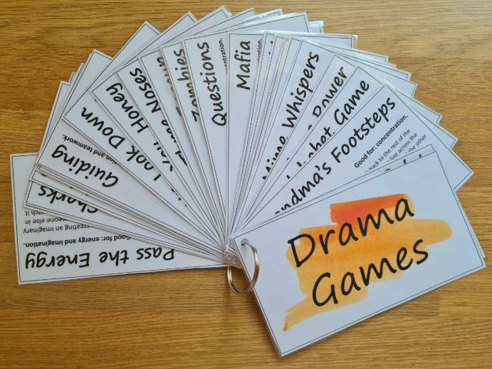 Drama Games Cards