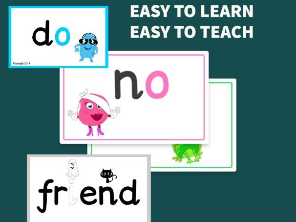 Tricky Words PowerPoints - Year 1 Common Exception Words from Monster Phonics