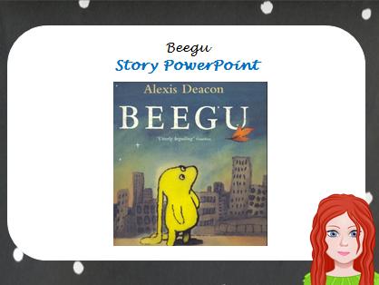 Beegu Story PowerPoint