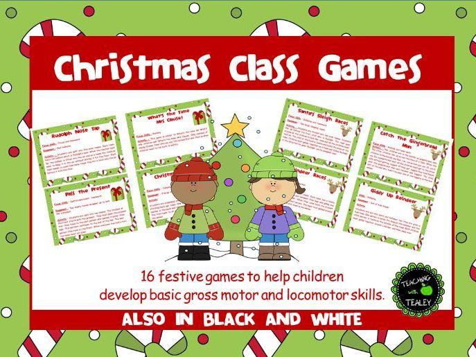 Christmas Class Games