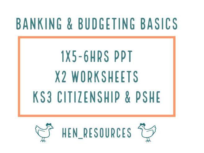 Banking and Budgeting Basics