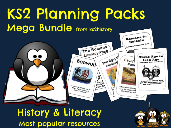 KS2 Planning Packs - Mega Bundle!