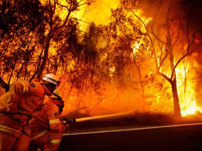 KS3 Australasia - Black Saturday, Bush Fires