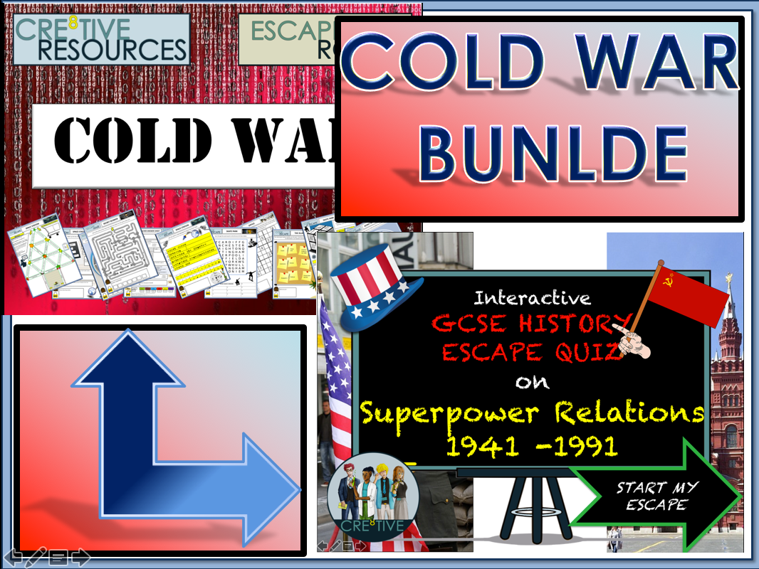 Cold War - GCSE History End of Term