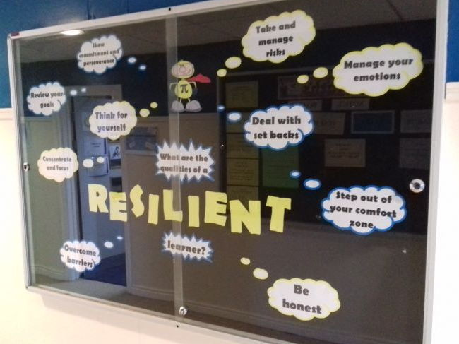 Resilient Learner Display - Whole School - Growth Mindset