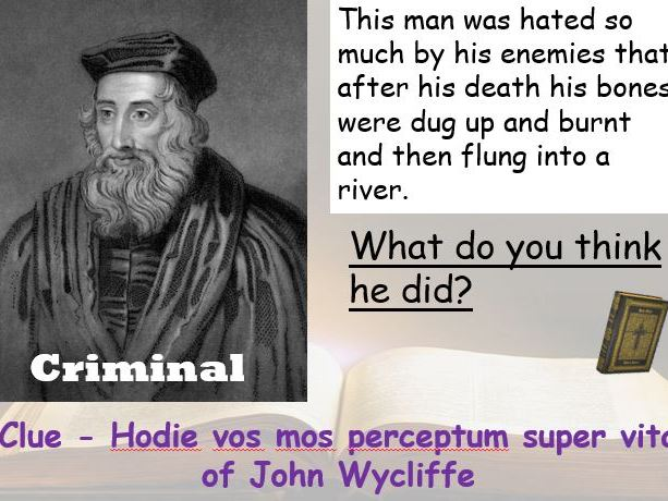 The Bible, William Tyndale, John Wycliffe and the Dead Sea Scrolls