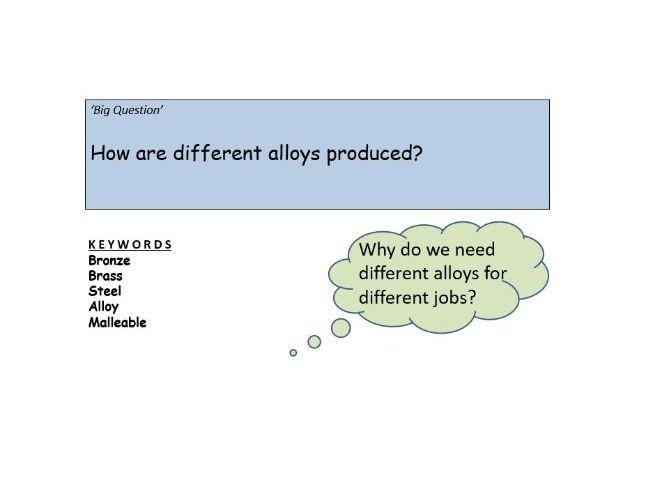 AQA GCSE Chemistry - C15 – Alloys