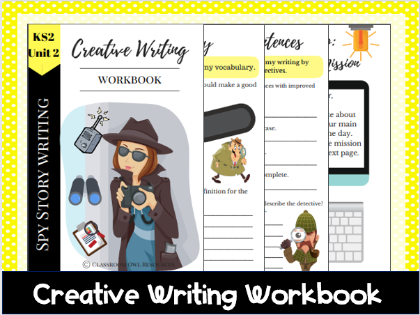 Creative Writing Workbook: Spy story writing