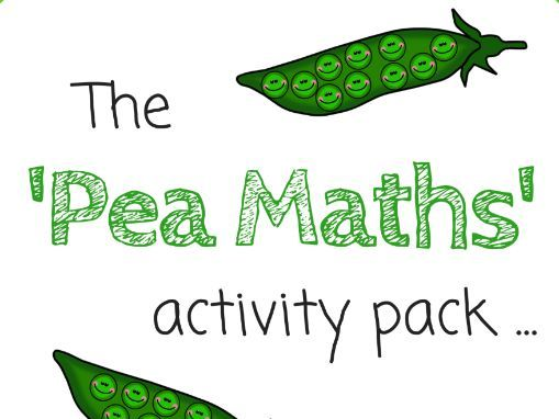Pea Maths Activities