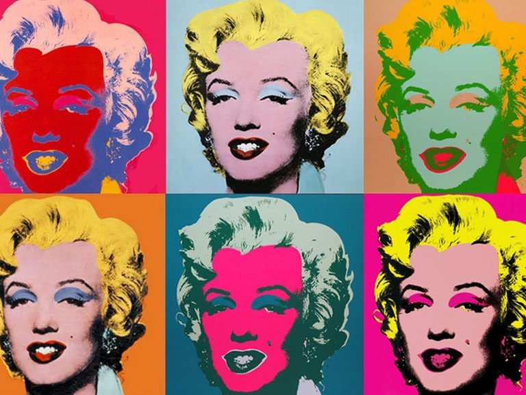 Pop Art described: artist-quotes of Andy Warhol & Roy ...
