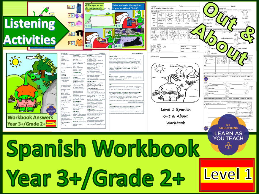 PRIMARY SPANISH WORKBOOK - OUT & ABOUT