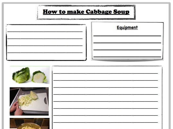 Gangsta Granny- Instructions to Make Cabbage Soup