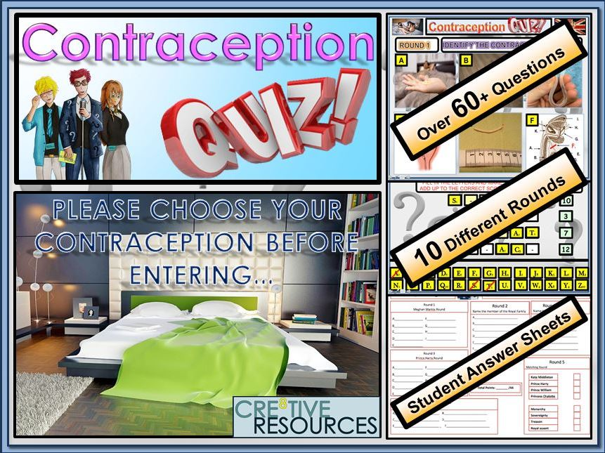 Contraception Quiz Lesson