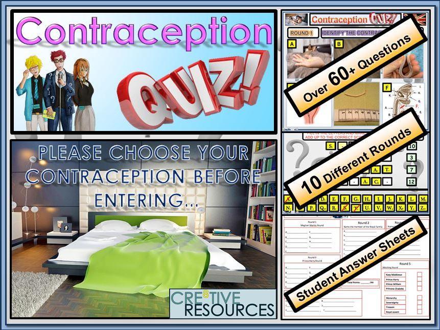 Contraception Quiz Lesson