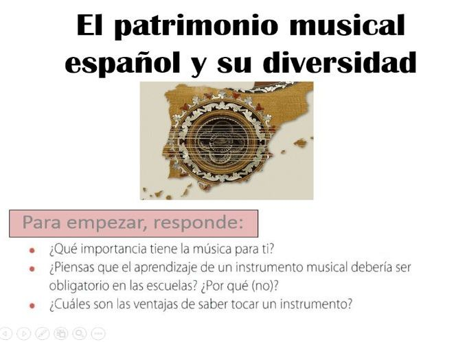 AS/ALevel New AQA El patrimonio musical - La musica espanola