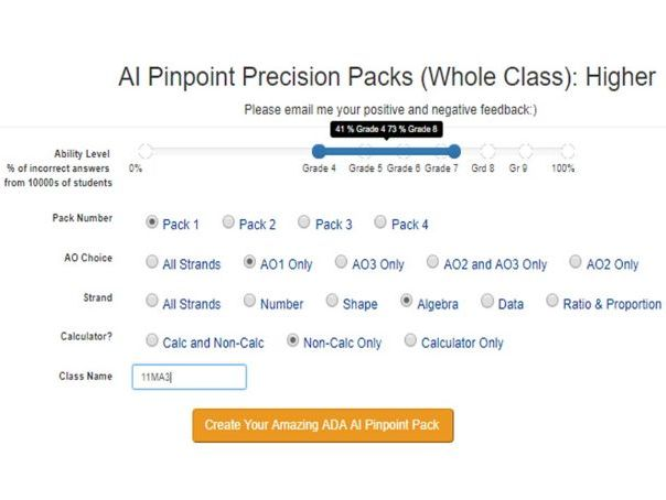 GCSE Pinpoint Precision Revision Packs!