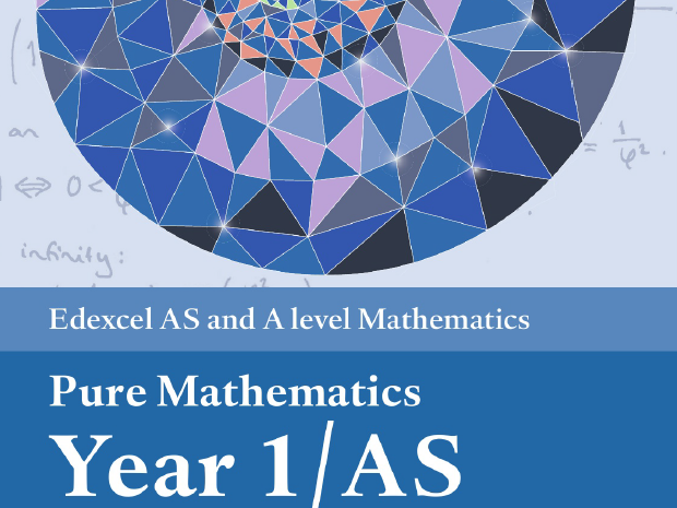 Edexcel AS Pure Mathematics Year 1 Topic Check List