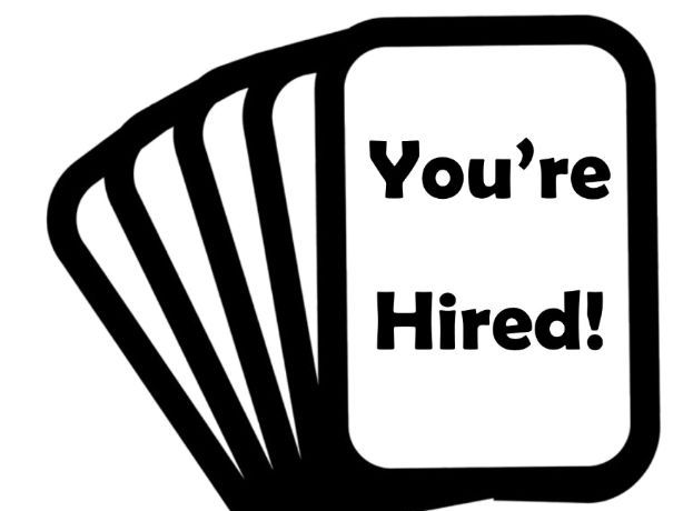 You're Hired! Card Game
