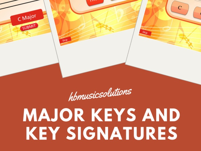 Major Scales And Key Signature Sample Module from Grade 1 Theory