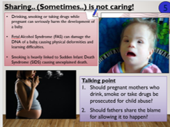 KS3 Drugs and alcohol during pregnanacy