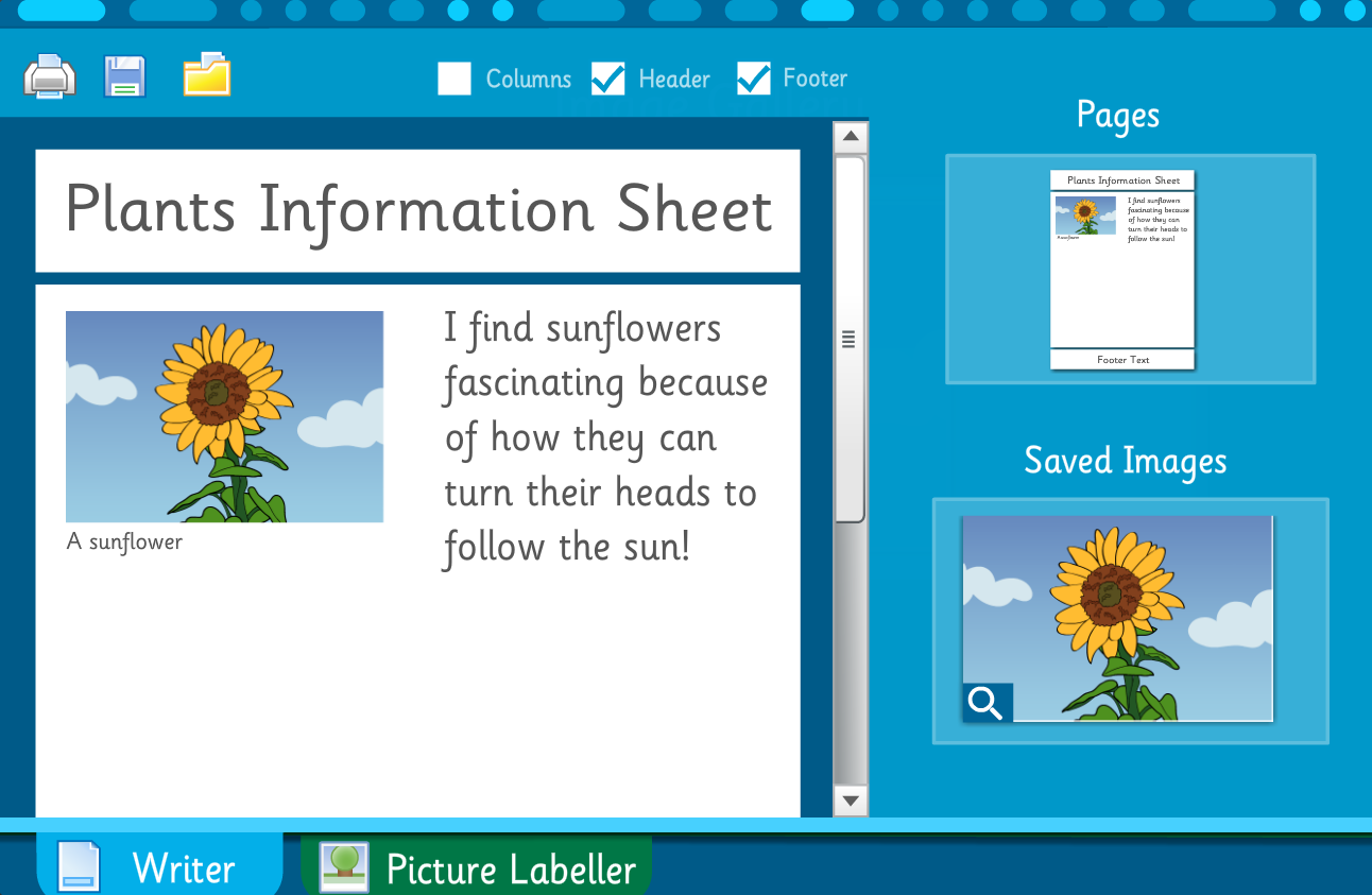 Make Your Own Information Book: Plants and Trees - Interactive Activity - KS2 Literacy