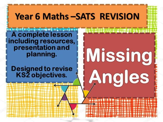 COMPLETE REVISION LESSON  MISSING ANGLES