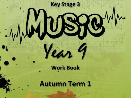 """KS3 MUSIC WORKBOOK: """"MUSICAL HISTORY TIMELINE"""" [AN INTRODUCTION] RECORDINGS"""