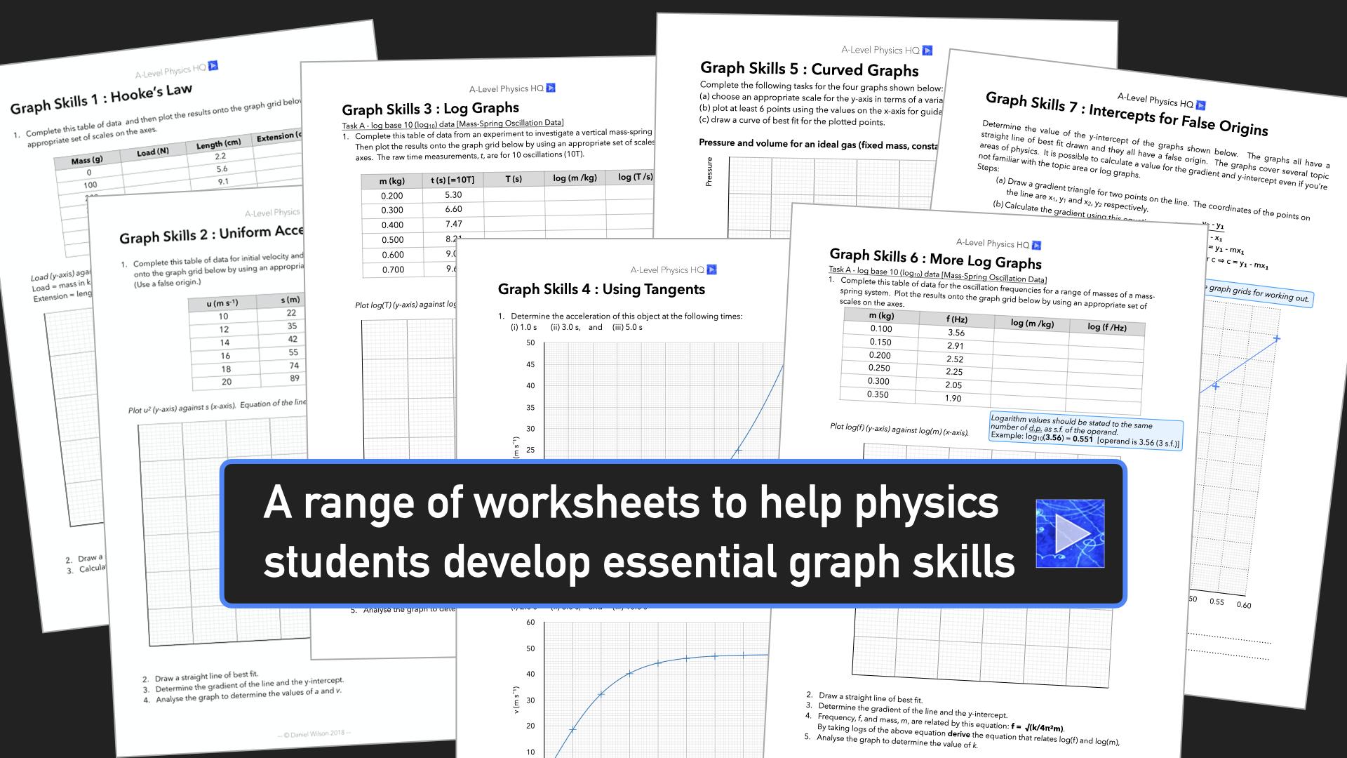 Physics Graph Skills