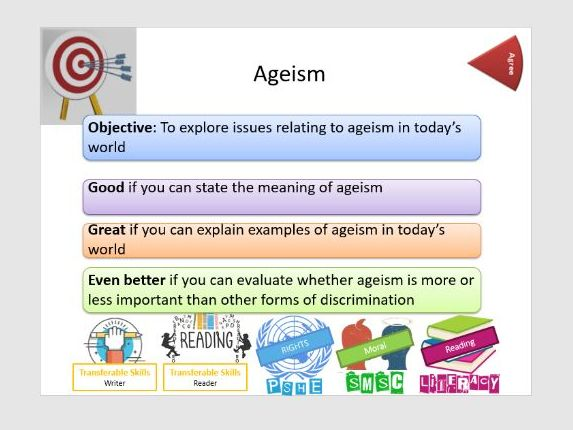 Prejudice & Discrimination: Ageism / Age Discrimination - Whole Lesson