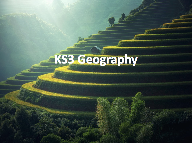 KS3 Geography - 3 years of teaching