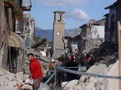 What happened in Amatrice in 2016?