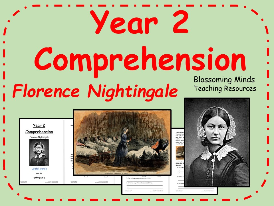 Year 2 SATs style comprehension - Florence Nightingale - History