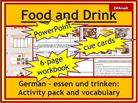 Food and Drink in German