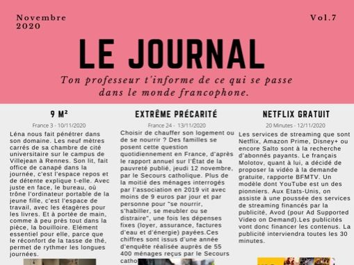 Le Journal 7