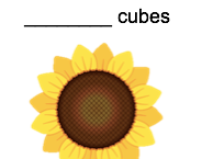 Measurement with cubes differentiated worksheets