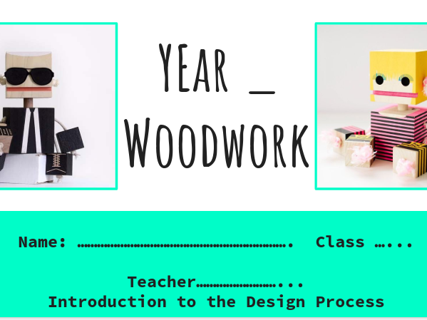 Block Bot Project -  Design and Technology - KS3 - Wood, Resistant Materials