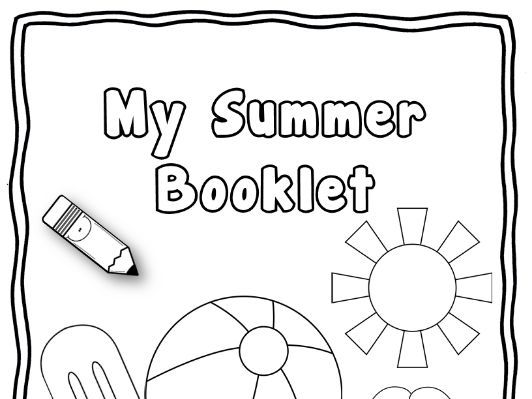 All about my summer activity book - Reception / Year 1