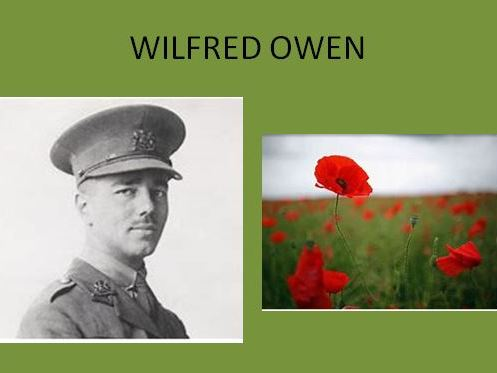 Wilfred Owen Background and Letter Home