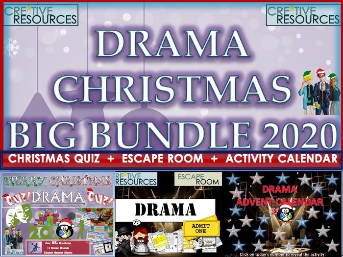 Drama Christmas BIG Bundle