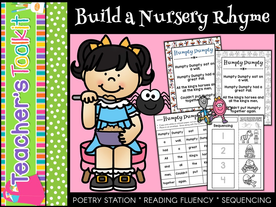 Build A Nursery Rhyme Poetry Station
