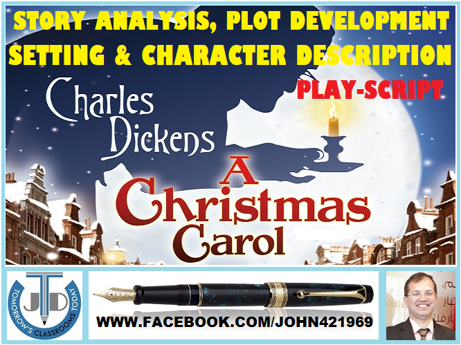 A CHRISTMAS CAROL: A SPIRITED STORY BY CHARLES DICKENS