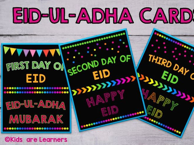 EID-UL-ADHA Cards Printable/Eid Sign/Eid Poster