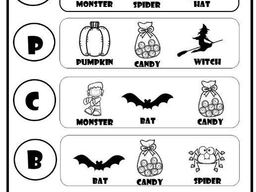 Halloween PreK+ Package